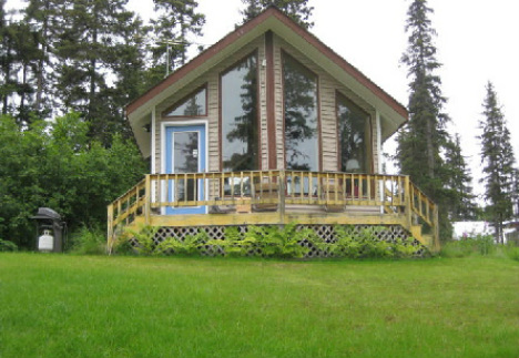 Prime Alaska Lakefront Cabin Home Largest Home Design Picture Inspirations Pitcheantrous